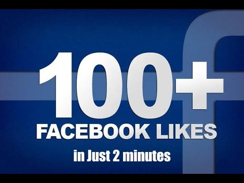 How To Get 100 Likes On Your Photo On Facebook In Just 2 Minutes!!