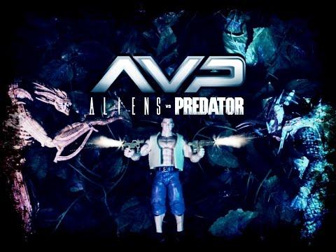 AVP  -  A L I E N S  VS  PREDATOR  (full Stop Motion Movie)