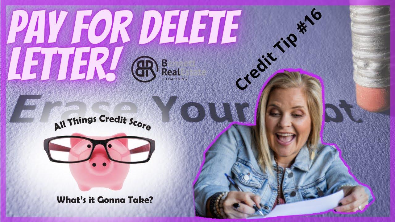Credit Tip #16 Settle Your Debt