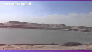 Archive new Suez Canal: drilling and dredging in a scene in the February 19, 2015