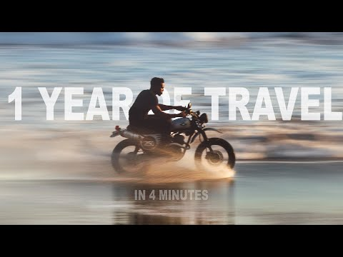 1 YEAR OF TRAVEL IN 4 MINUTES