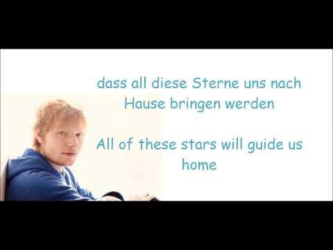 Ed Sherren All of the Stars - Deutsche Übersetzung