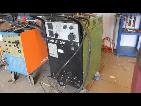 Teardown Of 250A TIG Welder - ESAB, Sweden