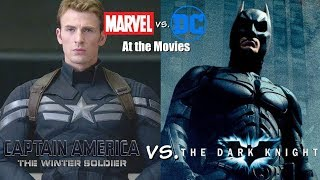 The Dark Knight vs. Captain America: The Winter Soldier - Marvel vs. DC At the Movies