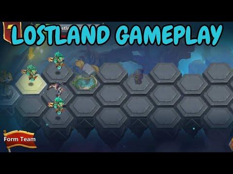 Lostland Gameplay L Castle Clash