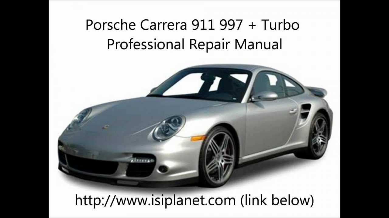 porsche carrera 911 997 repair manual quality tools youtube rh youtube com porsche 996 turbo repair manual 997 Turbo