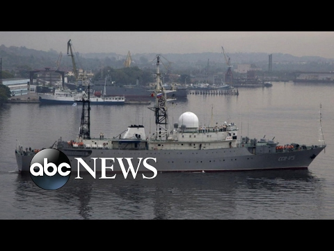 Russian spy ship