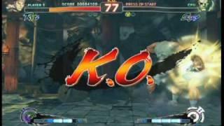 Super Street Fighter 4 - Gameplay Video 6