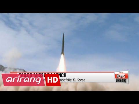N. Korea missile launch attempt fails: S. Korea