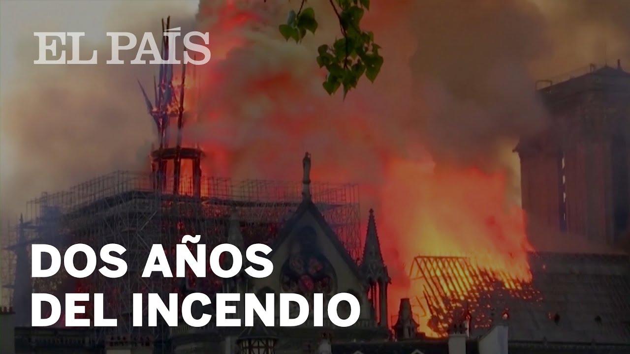 Se cumplen dos años del incendio en Notre Dame