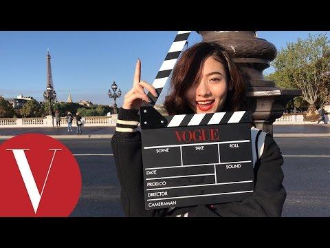 謝沛恩巴黎時裝週小日記 服裝拍攝現場