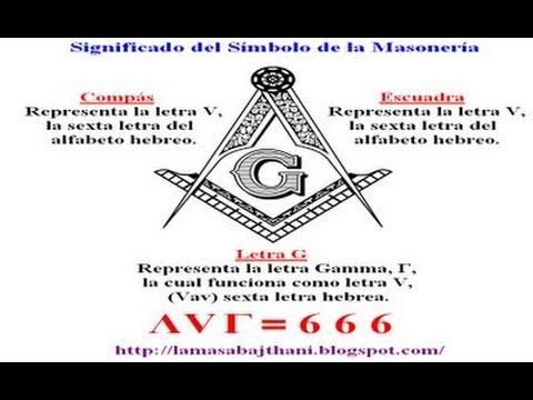 Masonería y el 666 (símbolos masones)
