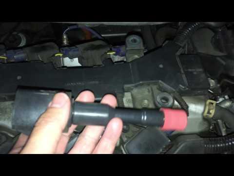 HONDA CIVIC HYBRID 2006 REPLACE SPARK PLUGS DIY