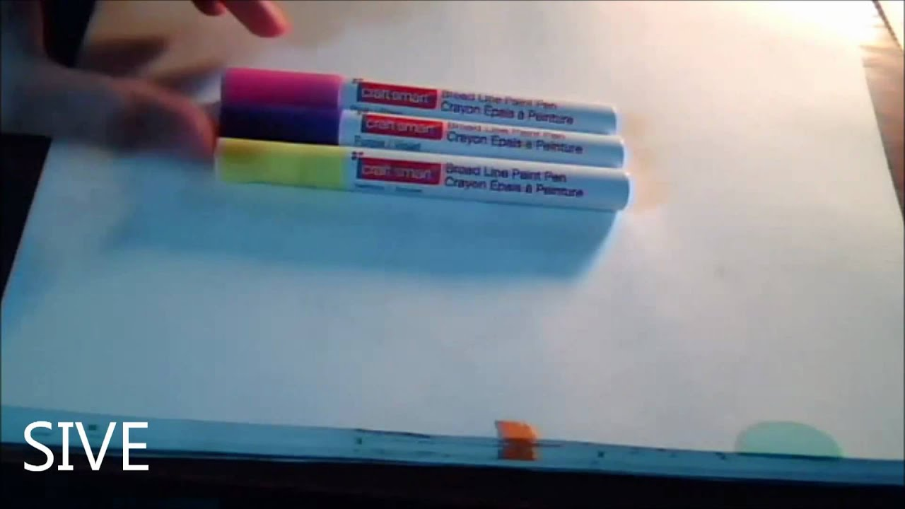 Paint pens for wood crafts - Craft Smart Paint Marker Review