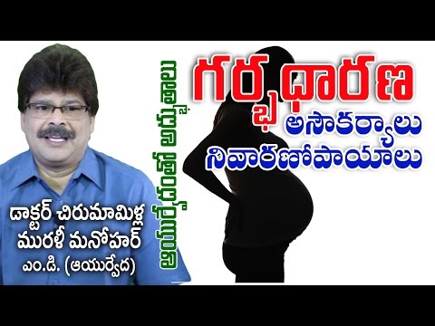 Health Problems During Pregnancy | Prof. Dr. Murali Manohar Chirumamilla, M.D. (Ayurveda)