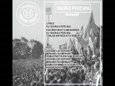 CHANT PERSIKU - YAKIN & PERCAYA