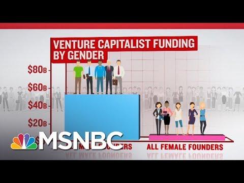 Where's The Venture Capital Funding For Women? | Velshi & Ruhle | MSNBC