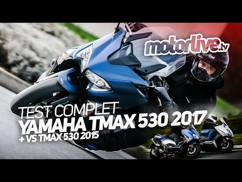 YAMAHA TMAX 530 2017 | TEST COMPLET (+ VS TMAX 530 2015) from YouTube · Duration:  11 minutes 1 seconds