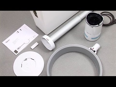 dyson cool am08 air multiplier pedestal fan getting started official dyson video youtube. Black Bedroom Furniture Sets. Home Design Ideas
