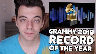 GRAMMY 2019: RECORD OF THE YEAR