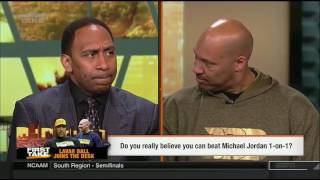 LaVar Ball on First Take