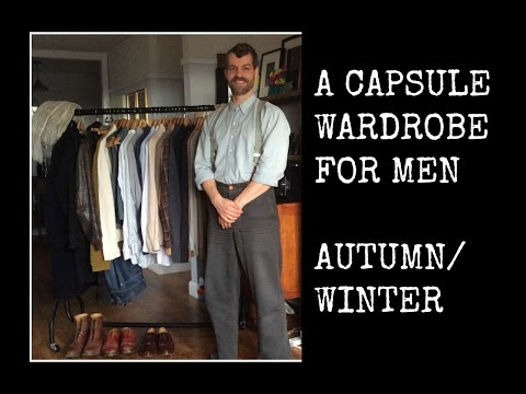 A capsule wardrobe for men // Vintage Style // Autumn/Winter