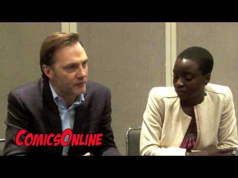 The Walking Dead   with David Morrissey and Danai Gurira