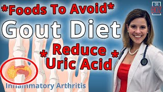 Best Gout Diet, What Causes Uric Acid & How to Reduce Uric Acid  Dr. Boz