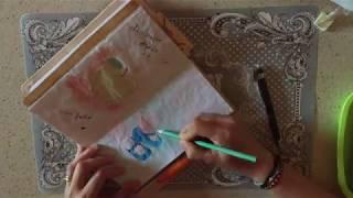 midori disegnando aprile di traveler s notebook italia giorni 21 22 23 24