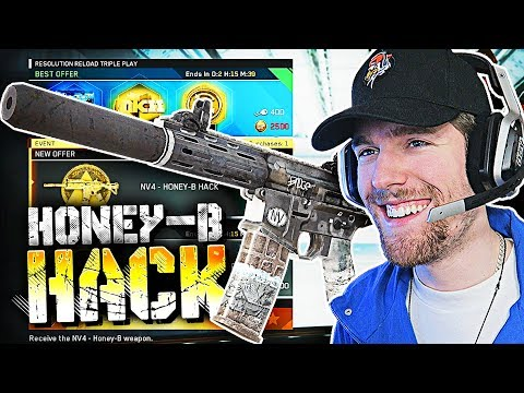 "FREE EPIC ""HONEY-B"" WEAPON HACK! (Infinite Warfare Honey Badger Gameplay)"