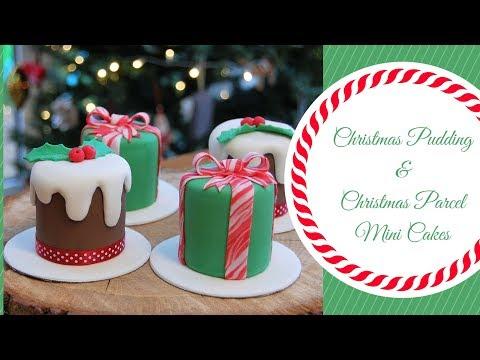 CHRISTMAS MINI CAKES | Ilona Deakin at Tiers Of Happiness