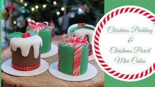 CHRISTMAS MINI CAKES | Ilona Deakin at Tiers Of Happiness