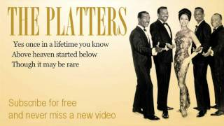The Platters - One In a Million - Lyrics