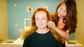 WhispersRed ASMR �︎ Essential Face and Scalp Massage wit...