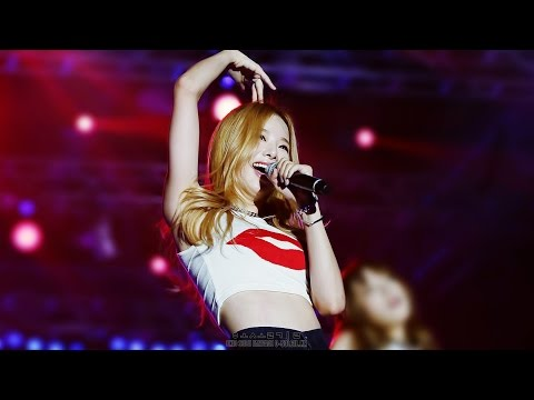150906 SGC SUPER LIVE : WHOZ THAT GIRL (EXID SOLJI FANCAM)