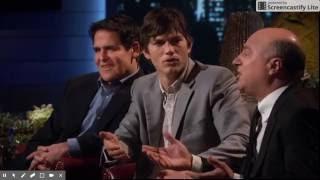 SHARK TANK: Ashton Kutcher fights with Kevin