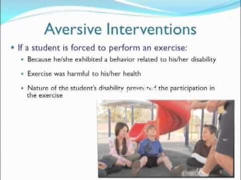 Aversive Intervention