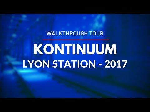 Kontinuum - An underground journey through time - in Lyon Station - Walkthrough Tour - Ottawa 2017