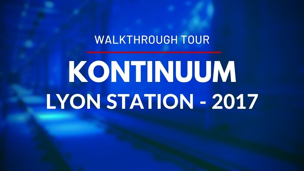Kontinuum - An underground journey through time - in Lyon Station - Walkthrough Tour - Ottawa 2017