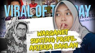 Viral Hari Ini: Warganet Sunting Profil Arteria Dahlan Jadi 'nyleneh' Di