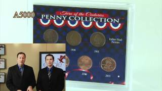 Turn of the Centuries Penny Collection