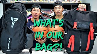 WHAT'S IN OUR BAG? GO-TO SHOES & ITEMS!!