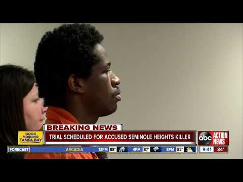 Anjali Queen B - Trial Date Set for Accused Seminole Heights Killer Howell Donaldson III