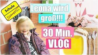 Ein emotionaler Tag! 😭 | Schulanmeldung von Leona | Wandbild im Babyzimmer | XXL VLOG | Isabeau