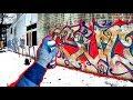 GRAFFITI - Abandoned Hall - Style Writing - SUCUK