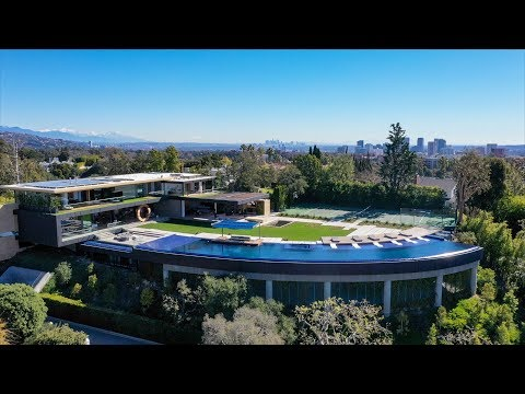 Most Insane Pool in the World - 281 Bentley Circle, Bel Air House | $48 Million Dollars