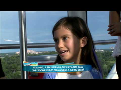 Menina que canta nas ruas dos Estados Unidos emociona ao falar dos seus planos