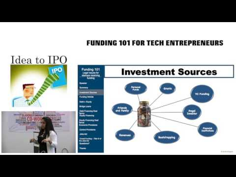 5-17-16 Funding 101 For Tech Entreprneurs