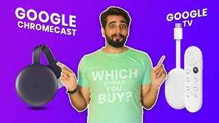 Google Chromecast vs Google TV: Which is best for your Smart TV?