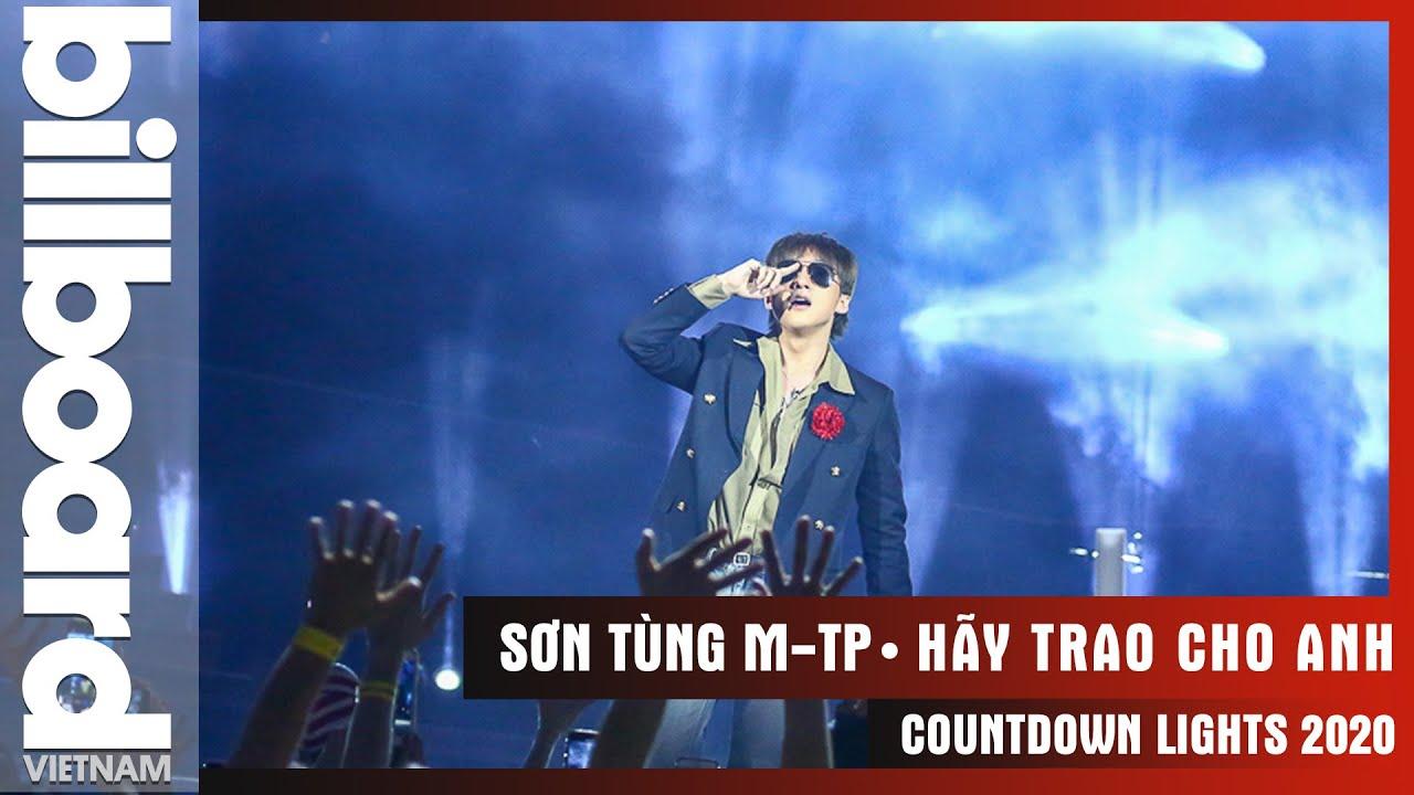 Hãy Trao Cho Anh - Sơn Tùng M-TP    Countdown Lights 2020   Billboard Việt Nam